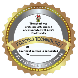 FOGGING TECHNOLOGY CERTIFICATE BADGE