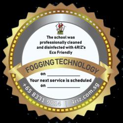 FOGGING TECHNOLOGY CERTIFICATE BADGE